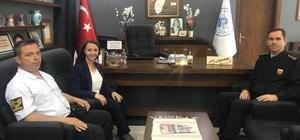 Albay Ağaoğlu Başkan Tekin'i ziyaret etti