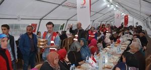 Kızılay'dan günlük 500 kişiye iftar