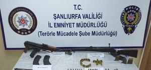 Şanlıurfa'da terör operasyonu: 10 gözaltı Operasyonda çok sayıda silah ile doküman ele geçirildi