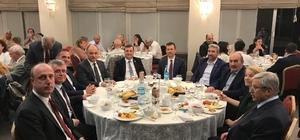 Ankara'da Çanakkaleliler iftarda bir araya  geldi