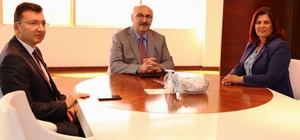 Vali Köşger'den Başkan Çerçioğlu'na tebrik ziyareti