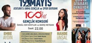 Kuşadası'nda 19 Mayıs'ta Emre Aydın ve Hande Ünsal ücretsiz halk konseri verecek