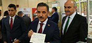 """Vali Kaymak: """"Samsun bir günlüğüne Türkiye'nin başkenti olacak"""" Bağımsızlığın asırlık anısına """"100. yılda 100 bin kartpostal"""""""