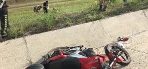 Sivas'ta Motosiklet kazası:2 yaralı Sivas'ın Koyulhisar ilçesinde sürücüsünün direksiyon hakimiyetini kaybetmesi sonucu kaza yapan motosiklette bulunan 2 kişi yaralandı