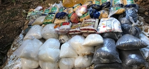 PKK'nın yer altına kurduğu marketi andıran depo ele geçirildi