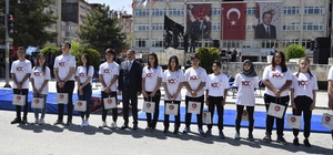 Burdur'da 19 Mayıs coşkuyla kutlandı