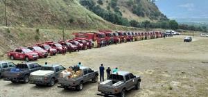 Orman ekipleri yangın sezonuna hazır