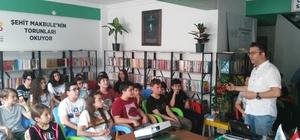 Çocuklara bilinçli sosyal medya kullanımı anlatıldı Kitap Kahvede çocuklara 'Sosyal medya kullanımı' semineri