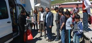 Bitlis'te okullar arası atık pil toplama yarışması