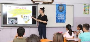 Büyükşehir Belediyesi'nden öğrencilere çevre ve geri dönüşüm eğitimi