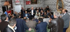 Başkan Sekmen Aziziye sakinleriyle buluştu