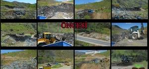 Mutki'deki çöpler BİKA tesislerine gönderildi