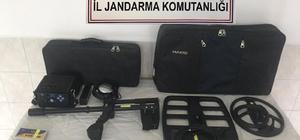 Bolu'da kaçak kazı operasyonu: 4 gözaltı