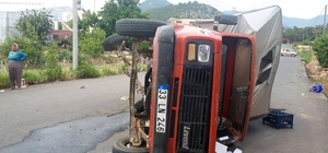 Bozyazı'da trafik kazası: 8 yaralı