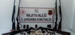 Malatya'da silah kaçakçılığı operasyonu