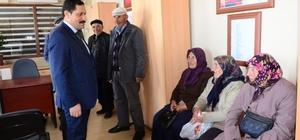 Vali Mustafa Masatlı, Hanak ilçesinde ziyaret ve incelemelerde bulundu