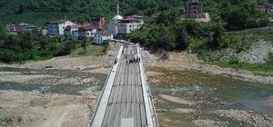 Selde yıkılan Kaleönü Köprüsü hizmete giriyor