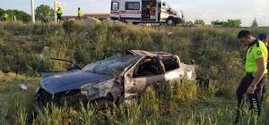 Kırıkkale'de trafik kazaları: 1 ölü, 4'ü ağır 9 yaralı