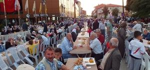 Pazaryeri'nde 3 bin kişilik iftar