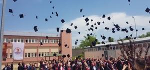 Vezirköprü'de mezuniyet coşkusu