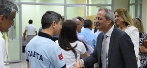 Başkan Bozdoğan, personel ile bayramlaştı