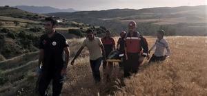 Eşeğinden düşüp 200 metrelik uçuruma yuvarlandı Uçurumda mahsur kalan 50 yaşındaki adamı itfaiye kurtardı