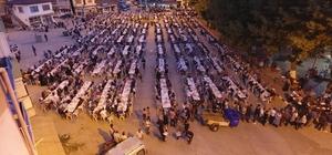 İftar programına yaklaşık 7 bin kişi katıldı