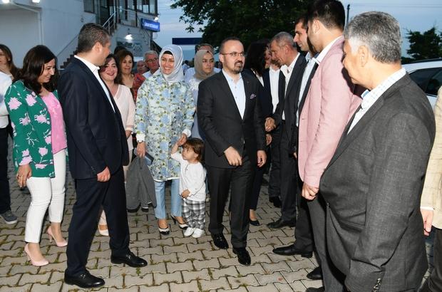 """AK Parti Grup Başkanvekili Turan'dan önemli açıklamalar AK Parti Grup Başkanvekili Bülent Turan: """"Çanakkale'deki yanlışlara dur demeyen teşkilat olmaz"""""""