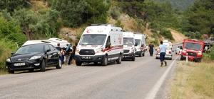 Mersin'de trafik kazası: 10 yaralı Silifke ilçesinde minibüs ile otomobil çarpıştı