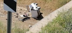 Otomobil köprüden dereye düştü: 1 yaralı