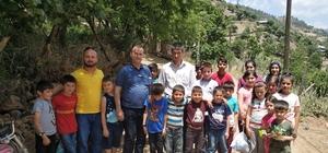 Bingöl katliamından kurtulan asker, 50 çocuğun yüzünü güldürdü