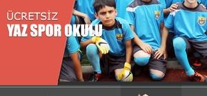 Yenişehir Belediyesi'nden ücretsiz yaz spor okulları
