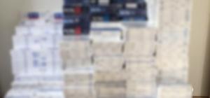 Kars'ta 17 bin 240 paket kaçak sigara ele geçirildi
