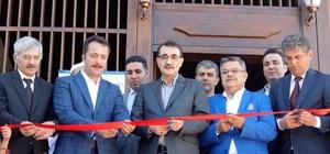 """720 yıllık camiyi restorasyon sonrası ibadete Bakan Dönmez açtı Enerji ve Tabii Kaynaklar Bakanı Dönmez:  """"Camiler mahallenin ve köyün merkezi haline gelmiş"""""""