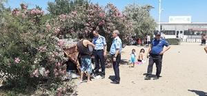 Kumsaz'da çadır operasyonu