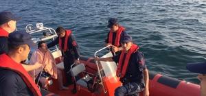 12 saat sonra denizde canlı bulundu Kurşunlu açıklarında bozulan yattan atlayan 3 kişiden 1'i denizden saatler sonra canlı kurtarıldı