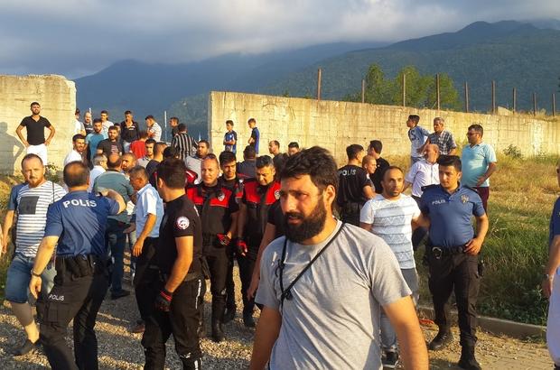 Amatör küme maçında sporcuların soyunma odasını bastılar Sporcuları darp eden taraftarı polis güçlükle sakinleştirdi