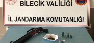 Bilecik'te jandarmadan uyuşturucu operasyonu