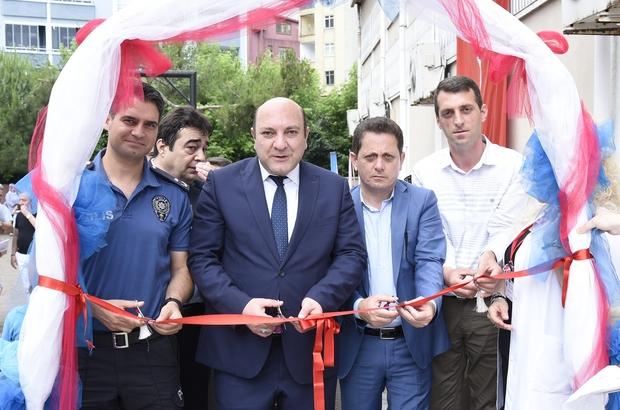 Tekkeköy'de yılsonu sergisi açılışı