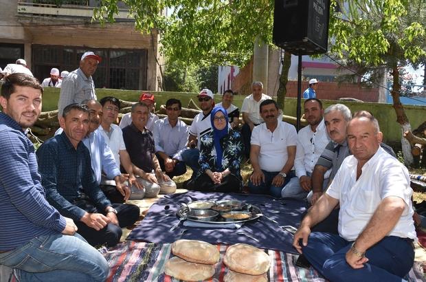 Osmanlı'dan beri devam eden hayır geleneği Geleneksel Kargın hayrına 15 bin kişi katıldı