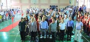 Osmaneli 75. Yıl Anadolu Lisesinde mezuniyet coşkusu