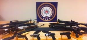 Bursa merkezli 5 ilde silah operasyonu: 28 gözaltı Silah kaçakçılarına 5 ilde eş zamanlı baskın