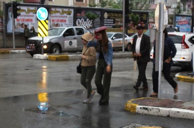 Aydın'da anlık şiddetli yağışlar devam edecek