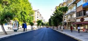 Fuzuli Caddesi asfaltlandı