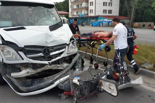 Zabıta memuru görev yaptığı yere 25 metre kala kazada öldü