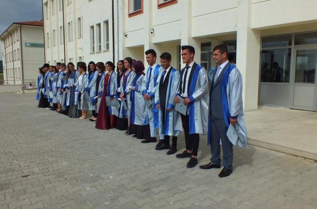 Pazaryeri ilçesinde mezuniyet töreni