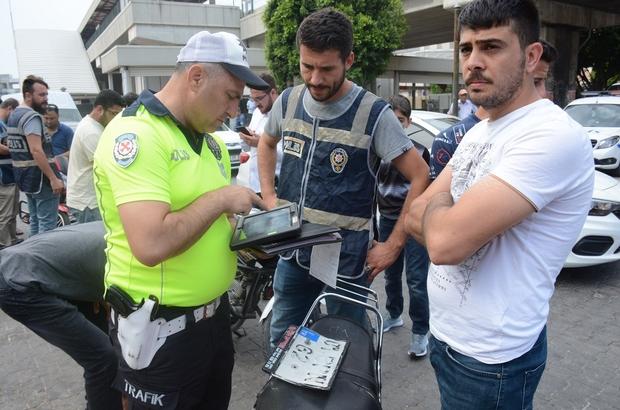 Emniyetten motosiklet uygulaması 82 motosiklet ve elektrikli bisiklet trafikten men edildi, sürücülerine toplam 117 bin 339 TL para cezası uygulandı