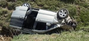 Narman'da trafik kazası: 1 yaralı