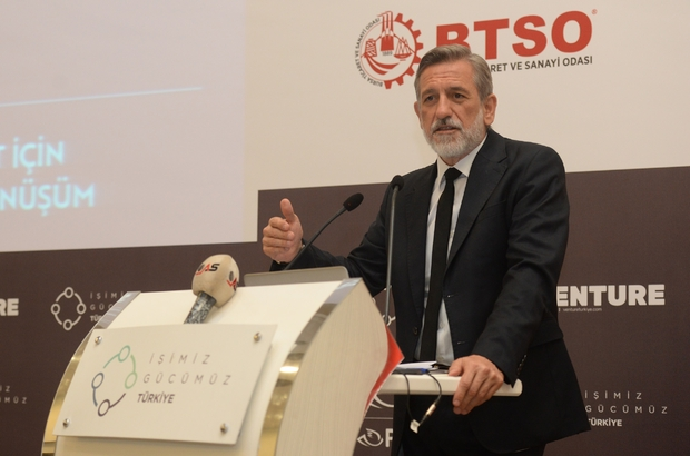 """Burkay: """"İşimiz Türkiye, gücümüz Bursa"""" """"Yeni fikirler için Girişim Sermaye Fonu'na ihtiyacımız var"""""""