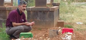 En acı ziyaret Beşiktaş'ta hayatını kaybeden anne ve 2 çocuğunun mezarına ziyaret